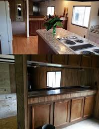 Kitchen Cabinets Mobile Al Mobile Home Makeover Before And After Rehab Pictures