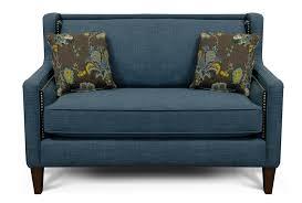 england furniture reviews roma blue leopold aquamarine loveseat
