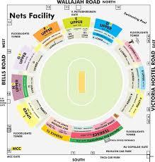 Wankhede Seating Chart Ipl Tickets 2019 Chennai Chepauk Stadium Tickets Price List