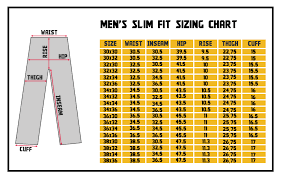 Mens Jeans Sizes Conversion Chart April 2015 Ye Jean Part 12
