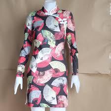ชุดกี่พ้าแขนยาว กี่เพ้า ชุดจีน ตรุษจีน ชุดกี่เพ้า มือสอง เสื้อมือสอง  เสื้อผ้ามือสอง ชุดกี่เพ้ามือสอง ชุดจีนมือสอง