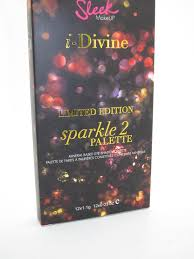 sleek makeup is introducing a sparkle 2 i divine