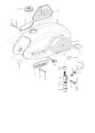 1963 yamaha yg1 fuel tank parts best oem fuel tank parts diagram