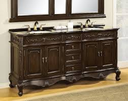 White Double Bathroom Vanities Traditional Bathroom Vanities And Cabinets Bathroom Vanities
