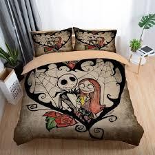 bed optimizer nightmare children bedding set king queen double full twin single size bed linen