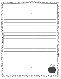 Blank Letter Template For Kids Template