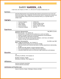 examples of perfect resumes arbitration representative legal 7 examples perfect resumes