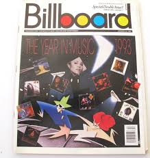 Billboard 1993 Year End December 25 Special Double Issue Year End Charts Very Good Condition