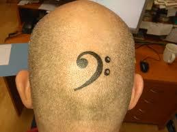 Tetování Houslový A Basový Klíč