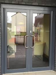 commercial entry door hardware new at trend e interstate glass crane way northwood oh