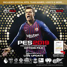 PES 2019 Option FIle PS4 v19.05 (Pro Evolution Soccer 2019 ...