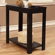 wooden chair side. Black Wooden Chair Side End Table
