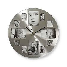 nedis circular wall clock 40 cm