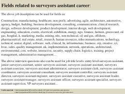 Survey Assistant Cover Letter Sarahepps Com