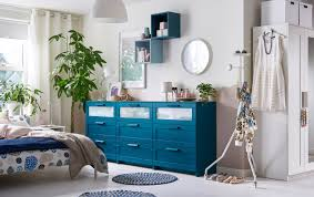ikea bedroom cabinets. Delighful Ikea A Bedroom In Neutrals With Three Blue Chest Of Drawers A Row With Ikea Bedroom Cabinets T