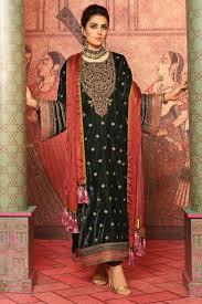 2 Piece Embroidered Suit With Satin Silk Dupatta Alkaram