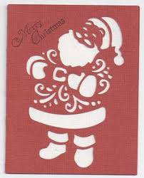 A Quilted Christmas Cricut Cartridge Project Idea 3   Cards ... & Christmas card made with the Cricut cartridge