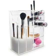... Ikee Design Premium Acrylic Multi-functional Makeup Organizer Brush  Holder ...