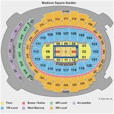 Billy Joel At Msg Seating Chart Madison Square Garden Seating View For Concert Madison