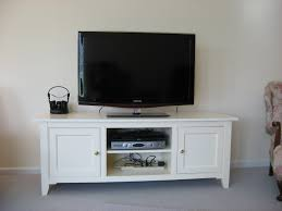 small white oak wood tv stand with square doors of dazzling