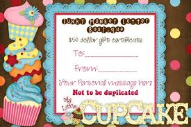 Funky Letter Boutique Gift Certificate