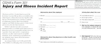 Patient Incident Report Form Template Injury Free Accident