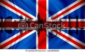 London flag, flags, london, animated, waving, flattered, flags of the world, anthem, hymn. Flagge Des Vereinten Konigreichs Mit London Skyline Flagge Des Vereinten Konigreichs Mit London Skyline Vektorgrafik Canstock