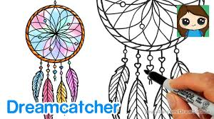 How To Draw A Dream Catcher How to Draw a Dream Catcher Easy YouTube 4