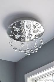 replace recessed light with ceiling light cleverlyinspired 3
