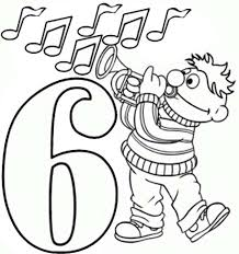 Small Picture coloring pages numbers sesame street sesame streets coloring and