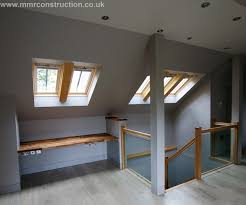 Skylights, loft conversion, attic, roof lights, velux A joint project with  our