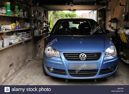 Car Inside Garage Stock Photos Car Inside Garage Stock Images Alamy