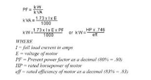 Power Factor Correction Calculation Chart Capacitor Sizing For Power Factor Correction Electrical