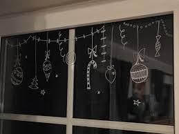 Farbini Weihnachtsdeko Fenstermalerei