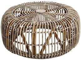 hill interiors the bali rattan round coffee table