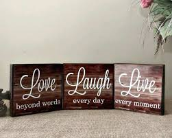 live laugh love sign live love laugh wall decor wood lovely live laugh love wood sign