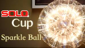 diy san go interior designers diy plastic cup light ball