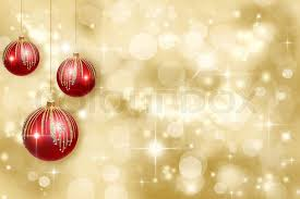 red and gold christmas backgrounds. Perfect Christmas Red Christmas Ornaments On A Gold Background Defocused  Stock Photo  Colourbox On And Gold Backgrounds