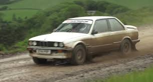 Cheap oversteer! The BMW 325i rally test day. A shambles. - /CHRIS ...