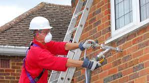 injected cavity wall insulation and