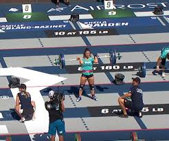 the squat clean pyramid event was the 6th of 15 total workouts for individual peors on day 3 friday of the 2016 crossfit games
