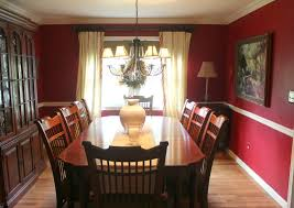 Red And Cream Dining Room Alliancemvcom - Standard size dining room table