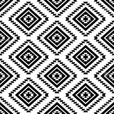 tumblr background black and white pattern. White Background Royalty Tribal Seamless Pattern Aztec Black Tumblr Imagens Fotoshop To And