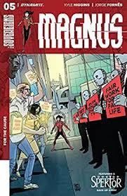 Magnus #5 (English Edition) eBook: Higgins, Kyle, Sitterson, Aubrey,  Fornés, Jorge, Burnett, Dylan: Amazon.es: Tienda Kindle