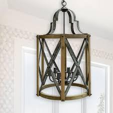 industrial farmhouse hanging pendant