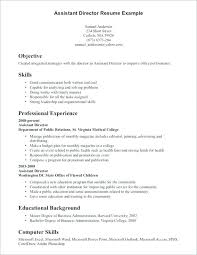 Example Of Resume Qualifications Resume Skill Samples Accounting