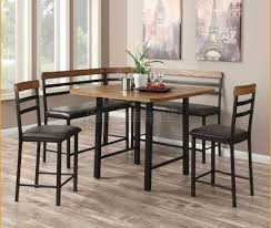 Dining Room: Nook Dining Table Set - 18 - Kitchen Table Nook Dining Set