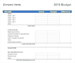 Monthly Household Budget Spreadsheet Income And Expenditure