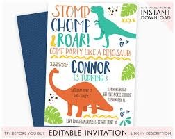 Dinosaur Birthday Invitation Dinosaur Invitation Dinosaur Birthday Invitation Dinosaur Dinosaur Invites Invitation Dinosaur Birthday Party Printable Invitation 662