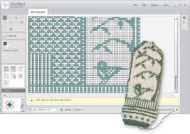 Create Your Own Knitting Chart Knitbird Knitting Software Design Your Own Knit Patterns